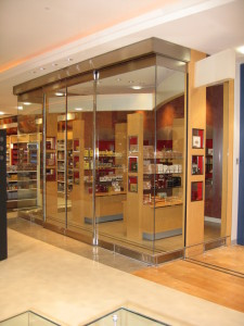 Retail Mall Sliding Glass Door System