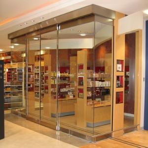 Retail Mall Sliding Glass Door System Thumb