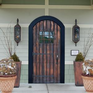 copper Swinging Door Thumb