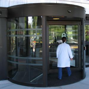 Revolving Hospital Door thumb
