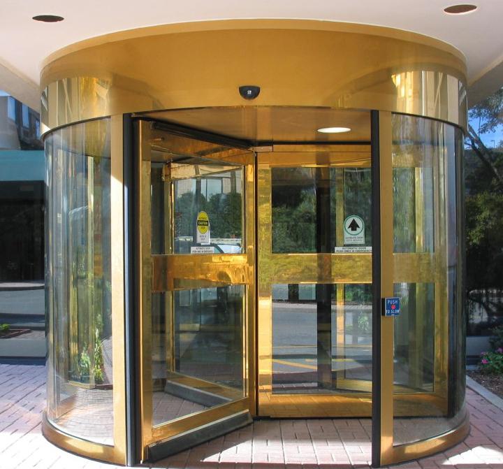 Superieur Hosrton Grand Rotating Door Entrance