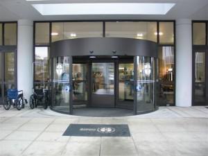Horton Grand Rotating Door Hotel Hospital Entrance