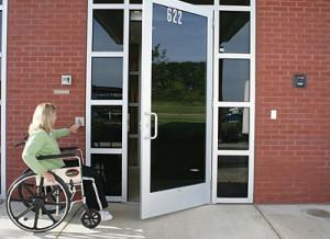 Handicap Access Push Button
