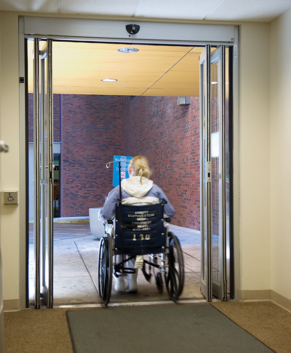 Handicap doors accessible toilet doors u0026 handicap for Wheelchair accessible doorways